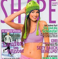 Shape Magazine, January 2007 (Germany)