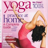 Yoga Journal, September 2007
