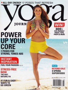 Yoga Journal May 2014 Cover
