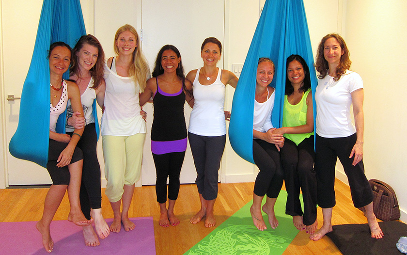 Unnata Aerial Yoga Teacher Training: Brooklyn, New York
