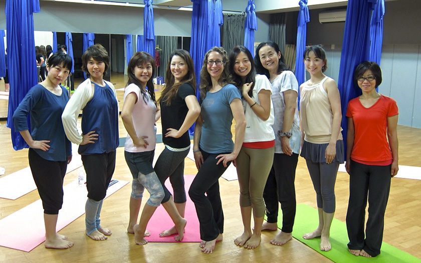 Unnata Aerial Yoga Teacher Training: Tokyo, Japan