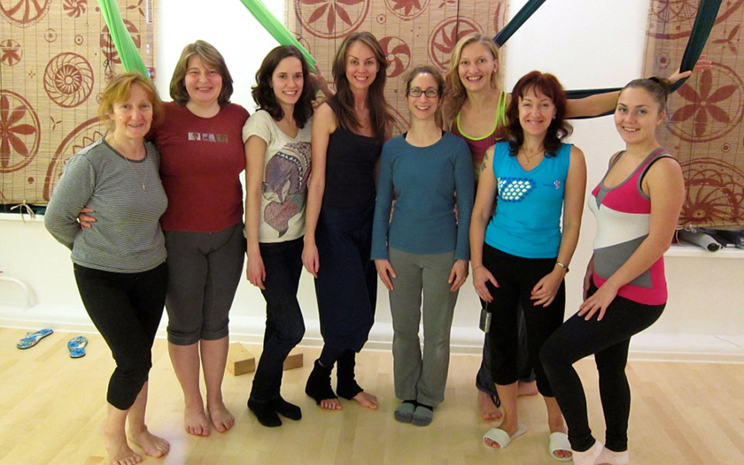 Unnata Aerial Yoga Teacher Training: St. Petersburg, Russia